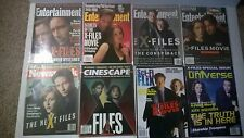 Lot of 8 The X-Files Magazines. Cinescape, Entertainment Weekly, Sci-Fi Flix +++