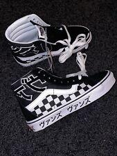 Vans SK8-HI Reissue 'Japanese Type' Typography Checkerboard Shoes
