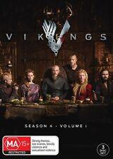 Vikings : Season 4 : Part 1 (DVD, 2016, 3Disc Set) (Region 4) Aussie Release