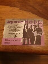 More details for depeche mode crystal palace devotional tour ticket 31 july 1993