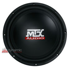 "MTX Audio TN12-04 Car 12"" Terminator Series Single 4 ohm Subwoofer 400W New"