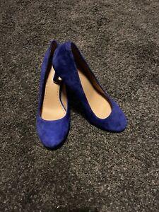 roberto cavalli Cobalt Blue Court Shoes Size 4