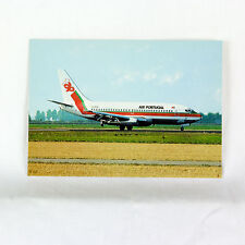 Air Portugal - Boeing 737-200 - CS TEN - Aircraft Postcard - Mint Condition