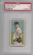1909 T 206 JOHN MCGRAW G/HIP PSA 3 SWEET CAPORAL 350 460 SUBJECTS FACTORY 42