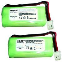 2-Pack HQRP Phone Battery for VTech CS6328 CS6328-2 CS6328-3 CS6328-4 CS6328-5