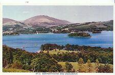 Cumbria Postcard - Derwentwater and Saddleback   ZZ519