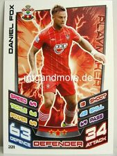 Match ATTAX 2012/13 Premier League - #221 Daniel Fox-Southampton