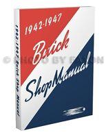 1942 1946 1947 Buick Shop Manual Special Super Century Limited Roadmaster Repair