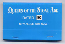 QUEENS OF THE STONE AGE Rated R UK promo only matchbook SEALED