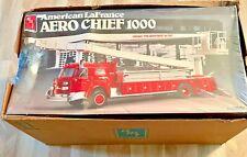 American LaFrance Aero Chief 1000 Vintage Amt Fire Engine 1/25 Kit Mint Sib 1987