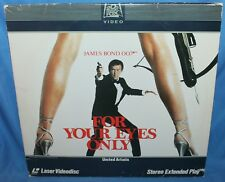 James Bond For Your Eyes Only Lasredisc 1981 United Artists Video Laser Discs