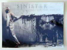 SINISTER MOVIE SAN DIEGO COMIC CON EXCLUSIVE LENTICULAR PROMO CARD SDCC RARE