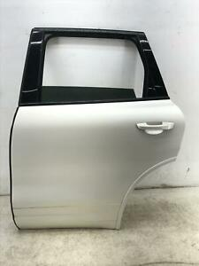 2011-2018 PORSCHE CAYENNE LEFT REAR DOOR SHELL W/O SHADE WRAPPED WHITE OEM 2012