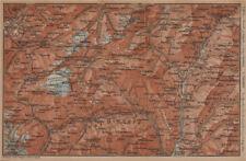 PASSO del SEMPIONE & VAL Antigorio. Limes VAL DIVEDRO CRODO Agaro TOPO-MAP 1901