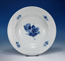 "Royal Copenhagen ""Blaue Blume glatt"" Suppenteller 23 cm.  8106"