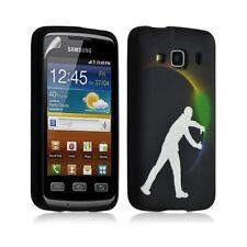 Housse coque étui gel pour Samsung Galaxy XCOVER S5690 motif LM05 + Film protect