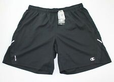 Champion Mens Size 2XL Black Athletic Running Shorts New with $30 Tags