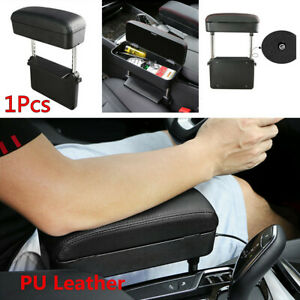 1X Retractable Car Seat Gap Central Console Armrest Pad Storage Box Accessories