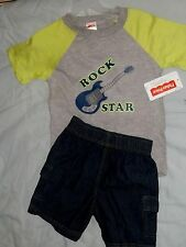 NWT FISHER PRICE OUTFIT TODDLER BOYS 3T - ROCK STAR