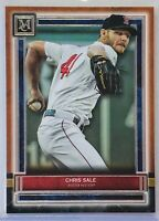 CHRIS SALE 2020 TOPPS MUSEUM COLLECTION COPPER CARD #95 BOSTON RED SOX BASEBALL