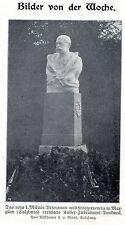 Kaiser-Jubiläums-Denkmal in Maxglan * 1.Militär-Veteranen- * Bilddokument 1908