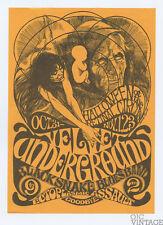 Retinal Circus Handbill 1968 Oct 31 Velvet Underground