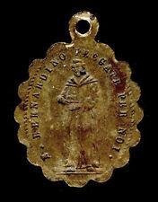 antica medaglia medal Anhänger medaille MADONNA DI VARALLO/B.BERNARDINO
