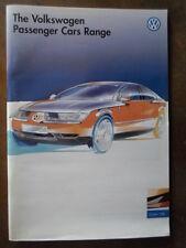 VOLKSWAGEN RANGE orig 1996 UK Mkt Prestige Brochure - VW Polo Golf Vento Passat