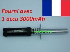 Soquet TURNIGY + 1 Accu 3000mAh, Chauffe bougie
