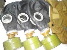 GAS MASK GP-5 Black (Mask,Filter,Bag), New, Genuine, Vintage, Retro, Soviet Army