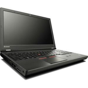 """Lenovo ThinkPad W541 w/ i7-4940MX 32GB 512GB SSD 15.6"""" FHD Win 7 Pro / 10"""