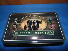 "AFRICAN BIG 5 ""BUFFALO"" COLLECTION KNIFE WITH TIN"
