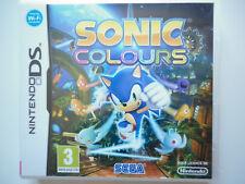 Sonic Colours Jeu Vidéo Nintendo DS