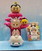 Alice in Wonderland Tsum Tsum Disney Queen Rabbit Cat Stack Stand vinyl
