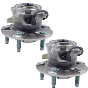 Pair(2) Rear Wheel Hub&Bearing Assembly Fits 05-06 Chevy 02-07 Saturn 06 Pontiac