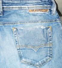 *HOT AUTHENTIC Men's DIESEL @ SAFADO 8C3 Slim STRAIGHT LEG STRETCH Jeans 33 x 31