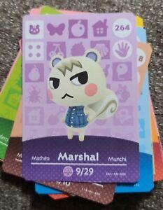 Marshal Amiibo Animal Crossing New Horizons NFC Card