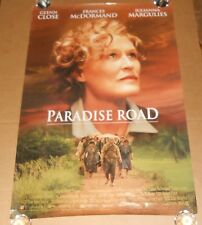 Paradise Road Movie Poster 1997 Promo 40x27 Frances McDormand