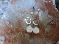925 Silber, Bergkristall Ohrringe
