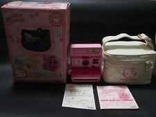 Sanrio Hello Kitty Instant Polaroid Camera 600 in Box From Japan Free Shipping