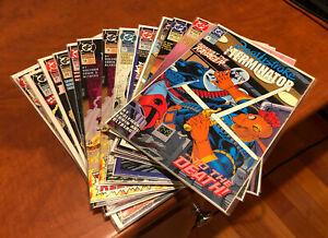 Deathstroke The Terminator 16 Book Lot (DC, 1991) High & Midgrade #4-25