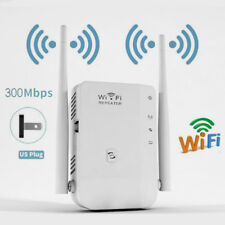 300Mbps Wireless WiFi Repeater Router Range Extender Signal Booster Plug US