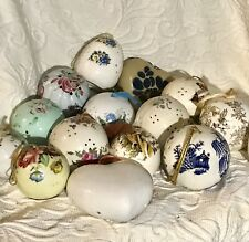 Vintage Collection 15 Pomander Balls,Different Shapes,Themes, Ceramic, Potpourri
