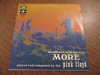 "RARE 33 tours PINK FLOYD soundtrack from the film ""more"""