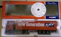 Corgi CC12701 ERF ECS Curtainside ERF New Generation Ltd Ed. No. 0001 of 2700
