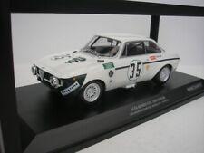 ALFA ROMEO GTA 1300 JUNIOR #35 JARAMA 1972 COLZANI 1/18 MINICHAMPS 155721235 NEU