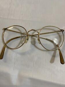 GENUINE RARE VINTAGE 1981 ALGHA 20KT GF GOLD Medical Glasses Frame