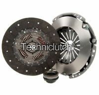 NATIONWIDE 3 PART CLUTCH KIT FOR FORD TRANSIT BOX 2.4 DI RWD