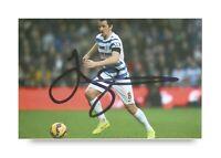 Joey Barton Signed 6x4 Photo Manchester City Newcastle United QPR Autograph +COA