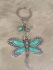 Large Dragonfly Key Ring  - New!